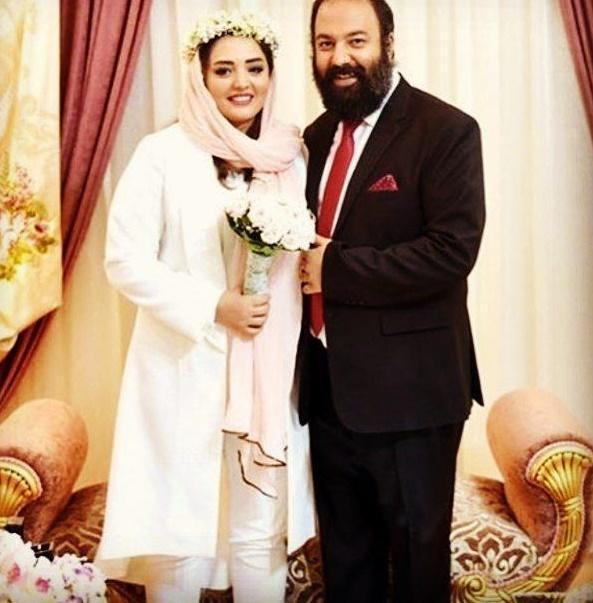 تبریک بهنوش بختیاری به نرگس محمدی