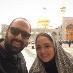 تبریک جالب علی اوجی به مناسبت ازدواج سحر ولدبیگی و نیما فلاح