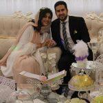 مراسم ازدواج نیوشا افشار برگزار شد!