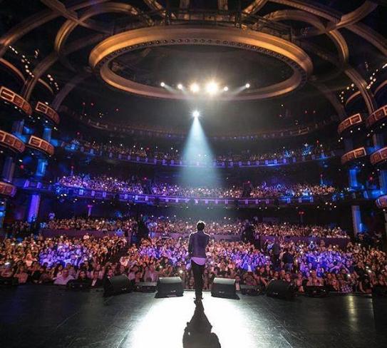 کنسرت لس آنجلس بنیامین