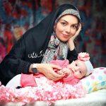 آزاده نامداری در اینستاگرام از شجاعت دخترش نوشت!