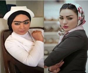تیپ بازیگر زن سریال شهرزاد در ورزشگاه ابوظبی !