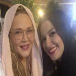 دیدار اتفاقی بهاره رهنما با خاله شادونه در ماه عسل!