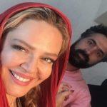 جمعه گردى بهاره رهنما به همراه همسرش در کافه مجید مظفرى