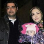 لبخند شادمانه آزاده نامداری و چهره خسته همسرش در تولد دختر یکتا ناصر