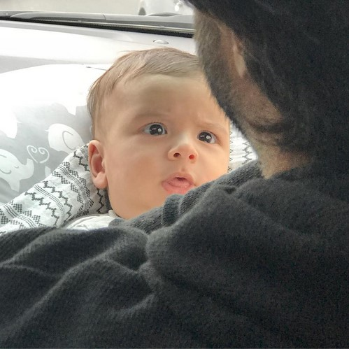 بنیامین بهادری و نگاه متعجب پسرش بن سان!