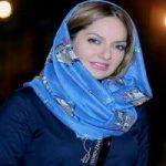 مهناز افشار در کنار گلاب آدینه در نمایش شیرهای خان بابا سلطنه