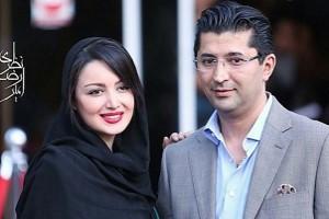شیلا خداداد و همسرش در جشنواره فجر