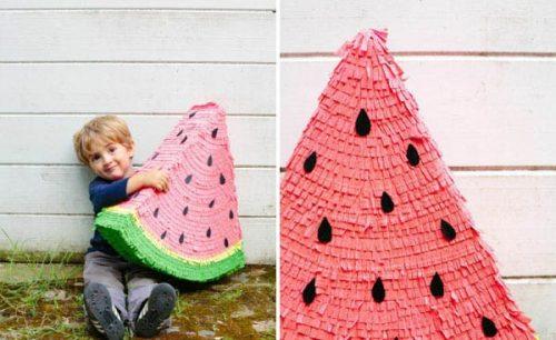 آموزش ساخت هندوانه سه بعدی با مقوا +تصاویر