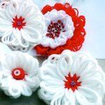 چگونه با کاموا گل درست کنیم ؟ +تصاویر