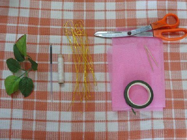 ساخت گل رز با تور