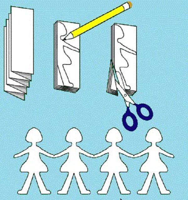 ساخت آدمک با کاغذ