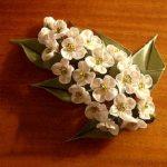 آموزش درست کردن شکوفه های زیبا با روبان