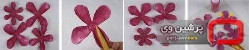 درست کردن گل رز