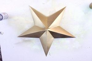 ستاره کاغذی |آموزش درست کردن ستاره با کاغذ