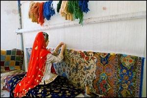 تاریخچه فرش ، پس از ورود اعراب