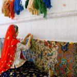 فرش ایرانی و شیوه های بافت آن