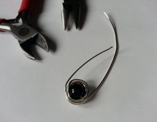 گوشواره سیمی