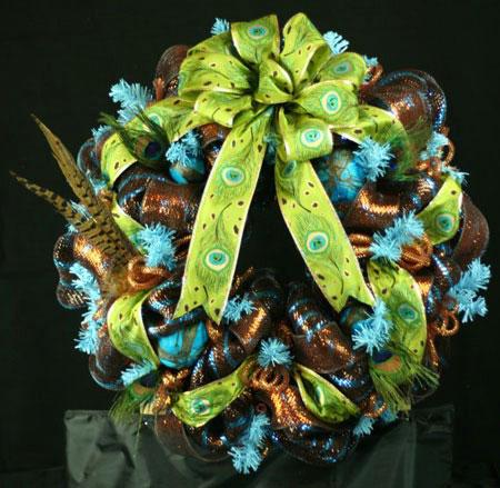 حلقه گل تزئینی
