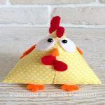 عروسک پارچه ای | آموزش درست کردن عروسک مرغ با پارچه