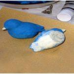 پرنده کاغذی | آموزش درست کردن پرنده با کاغذ مچاله