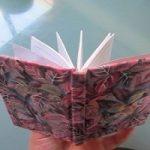 جلد پارچه ای | آموزش درست کردن جلد دفتر با پارچه