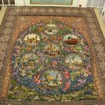 قالیچه تصویری در دوران قاجار