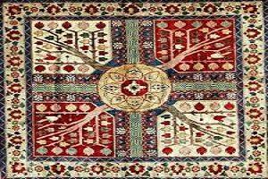 قالی چهارباغ و قدمت آن