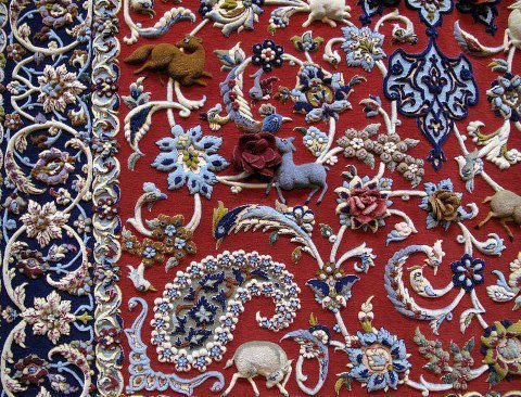 نقوش فرش | نگاهی گذرا بر تاریخچه نقوش سنتی فرش