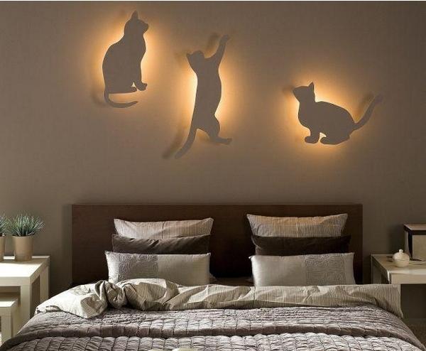 چراغ خواب دیواری