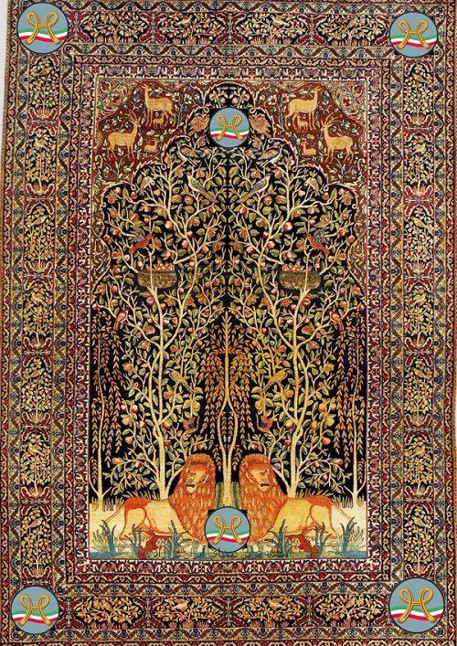آشنایی با قالی کرمان