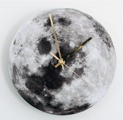 آموزش درست کردن ساعت به شکل کره ماه +تصاویر