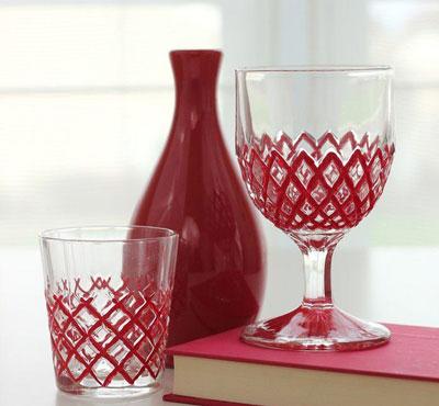روشی آسان برای تزئین کردن لیوان و جام +تصاویر