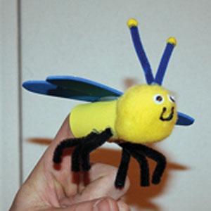 کاردستی عروسک انگشتی برای مهد کودک +تصویر