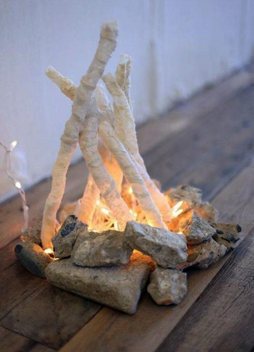 آموزش درست کردن آتش جادویی با ترکه های چوب +تصاویر