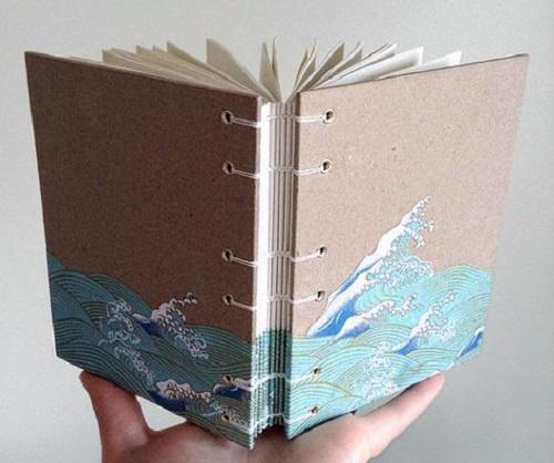 کاردستی های باربی آموزش درست کردن دفترخاطرات با مقوای رنگی +تصاویر