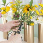 با لوله PVC گلدان زیبا درست کنید +تصاویر