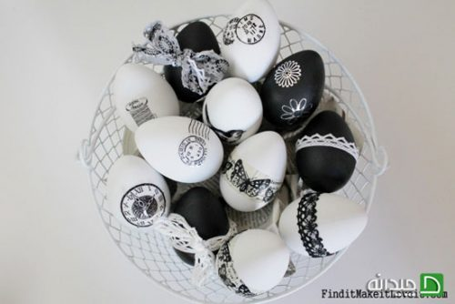 ایده های جالب برای تزئین تخم مرغ هفت سین +تصاویر