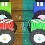 آموزش درست کردن ماشین با مقوا +تصاویر