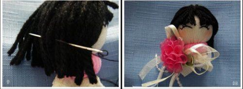 یه راحتی با جوراب عروسک درست کنید( فوق العاده جالب )+تصاویر