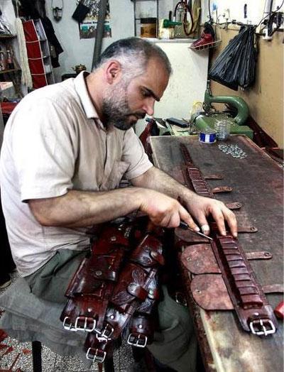 قدمت چرم سازی در کرمانشاه