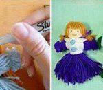 چگونه با کاموا عروسک درست کنیم ؟+تصاویر