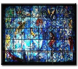 شیشههای منقوش | تکنیک تزئین شیشه