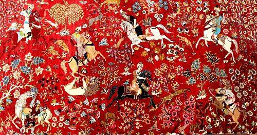 فرش ایران در گذر تاریخ