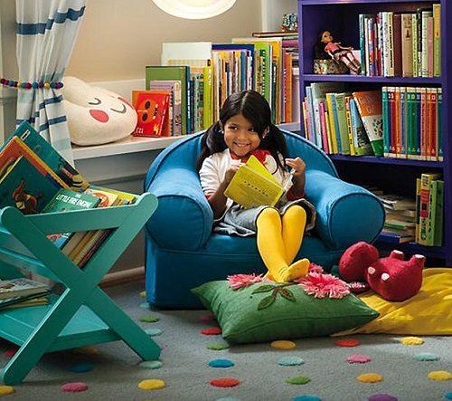 درست کردن جاکتابی برای اتاق کودک +تصاویر