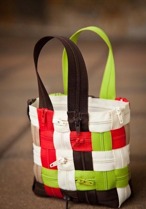 روشی جالب و آسان برای درست کردن کیف با زیپ +تصاویر