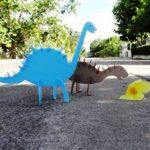 آموزش درست کردن دایناسور با مقوا +تصاویر