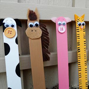 حیوانات مزرعه را با چوب بستنی درست کنید +تصاویر
