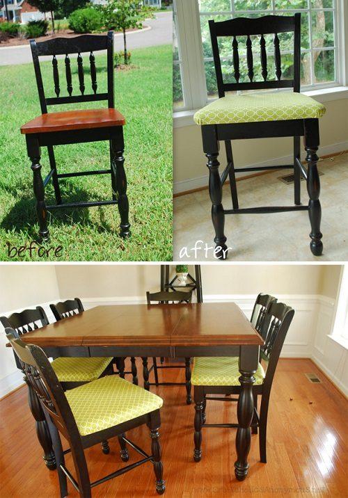 آموزش درست کردن رومبلی برای صندلی با فوم +تصاویر