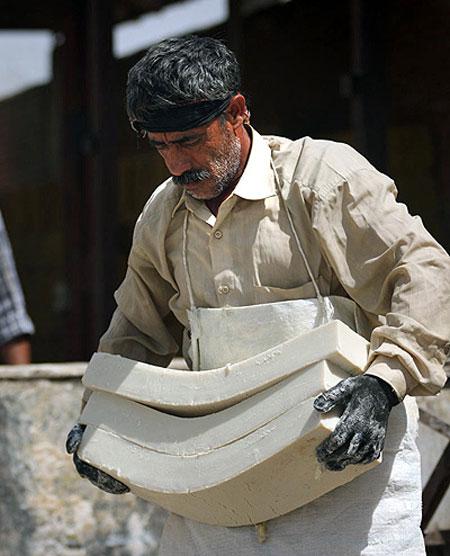 ترکیبات استفاده شده در صابون مراغه